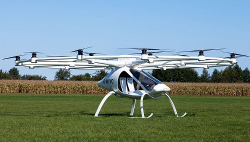 This electric helicopter is unlike any chopper you've seen before
