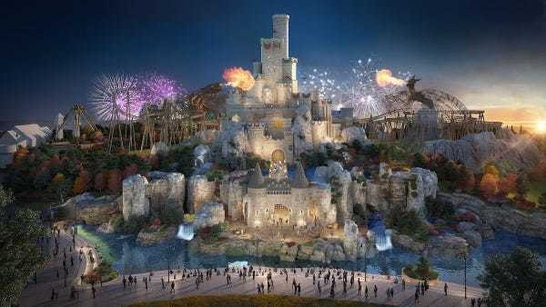 UK theme park to rival Disneyland Paris due to open in 2024 - Business Insider