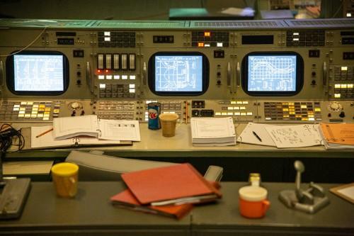 Apollo Mission Control Center restored for moon landing anniversary