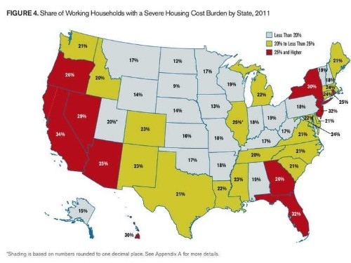 Across The Country, Renters Are Getting Crushed By Housing Costs