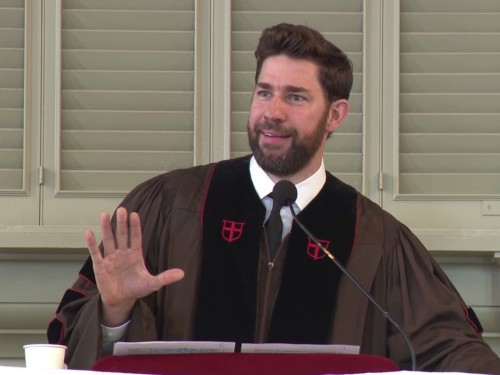 John Krasinski delivers commencement speech at Brown