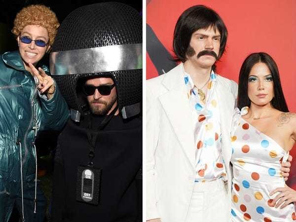 All of the best celebrity couples costumes this Halloween - Business Insider
