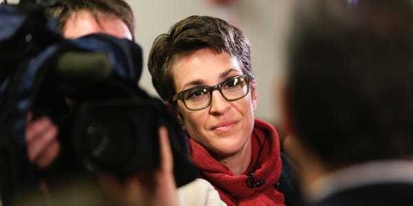 The life of Rachel Maddow, Rhodes scholar, news anchor, and activist - Business Insider