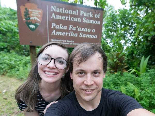 A millennial couple works while they travel to make their trips free - Business Insider