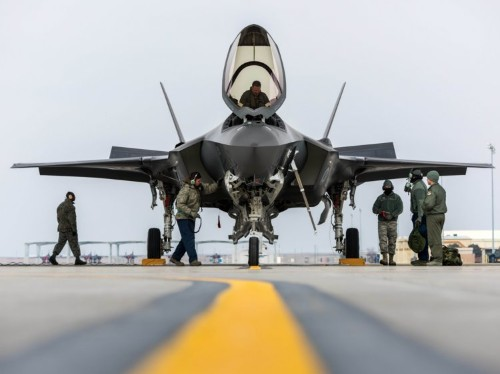 Mattis makes it official: The F-35 and the F-18 will face off