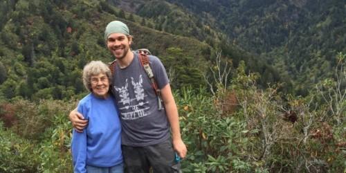 Brad Ryan is taking his grandma Joy, 89, to all US national parks