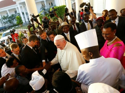 Pope to honour Ugandan martyrs on Africa tour