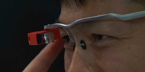 This is the Chinese version of Google Glass and it's only a fraction of the price