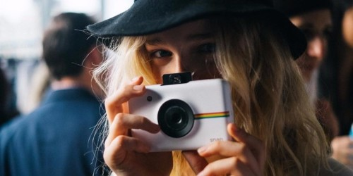 Polaroid's fun instant camera gives you a more intimate way of making memories