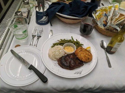 Amtrak food review: Cross-country dining was much better than expected - Business Insider