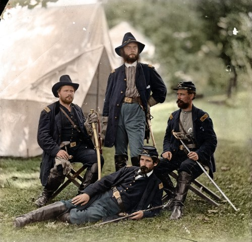 Amazing American Civil War photos turned into glorious color