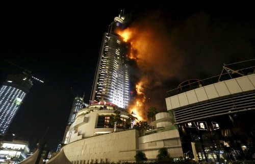 Dubai's New Year's Eve blaze raises questions about the safety of hundreds of gleaming towers