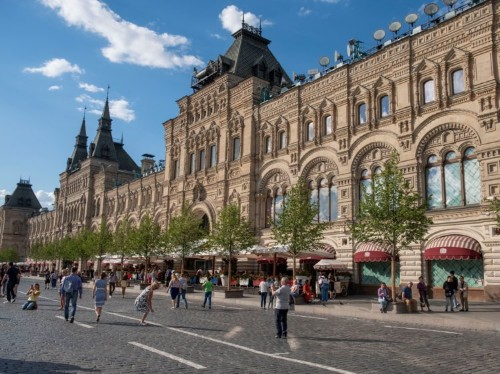 I visited Russia's most iconic department store in Moscow, GUM: Photos