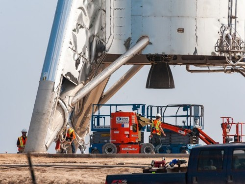 Watch live: SpaceX to launch Starhopper rocket ship in a test