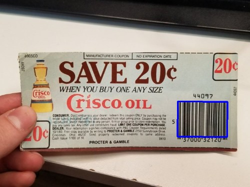 Someone used a 36-year-old coupon to save 20 cents and the internet can't handle it