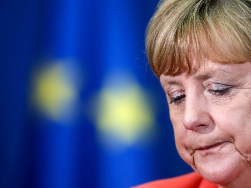 Angela Merkel is about to become a lot less popular in Germany