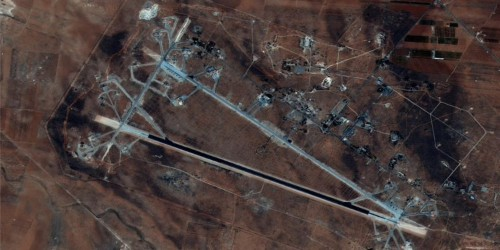 Syrian military bases are emptying after Trump gave warning after warning of a US airstrike