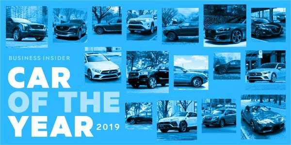 One of these 16 finalists will become Business Insider's 2019 Car of the Year - Business Insider