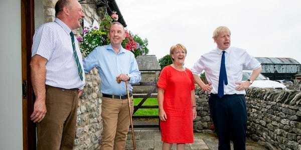 Boris Johnson heading for victory due to Labour's crumbling 'red wall' - Business Insider