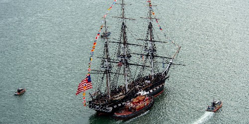 The USS Constitution took a cruise to celebrate its 222nd birthday - Business Insider
