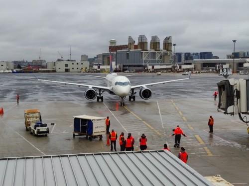 Delta Airbus A220 first class flight review, photos
