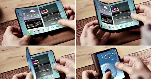 Samsung's long-rumored foldable smartphone might be announced in 2017, and it looks like a flip-phone