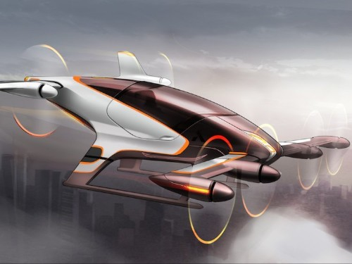 Airbus is building flying taxis so that it can become the Uber of the skies