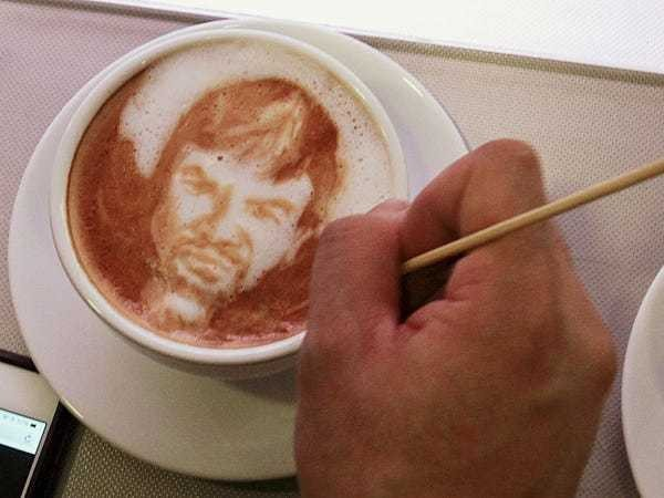 20 awesome photos of extreme latte art - Business Insider