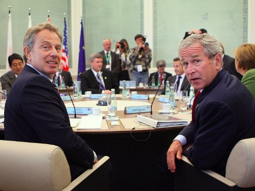 MEMO: Tony Blair tells George W Bush they can create 'post-cold war world order' in 2003 note