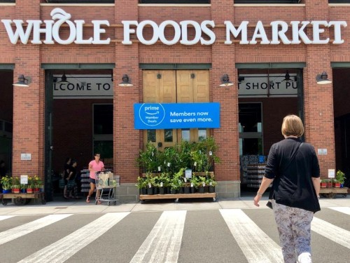 Amazon is giving Prime members up to $30 in free cash for shopping at Whole Foods