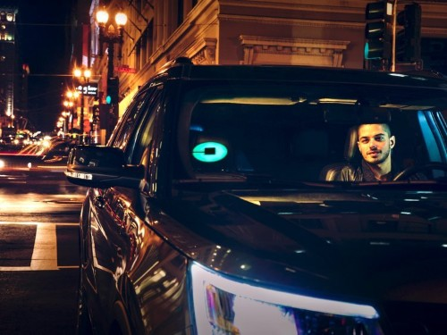 Uber patented a light-up sign to go on top of cars