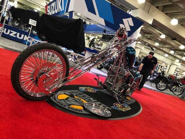 These are all the cool bikes I saw at the 2019 New York Motorcycle show - Business Insider