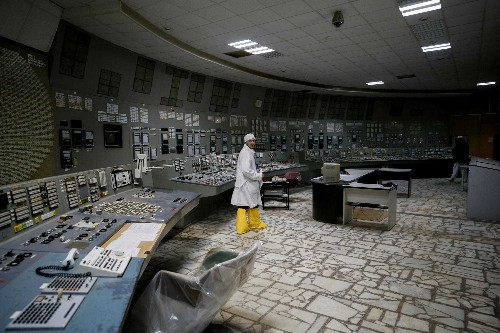 Chernobyl control room tours open, but radiation still high
