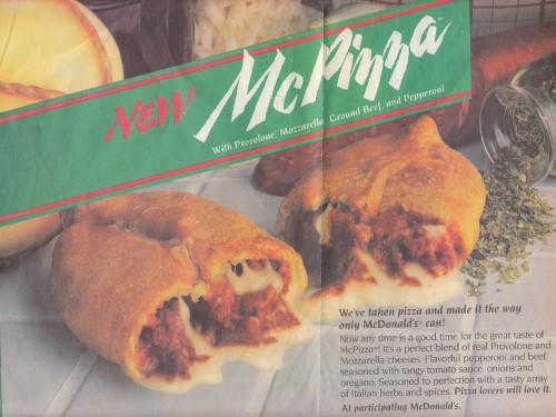 11 McDonald's menu items that were huge failures