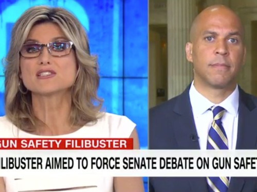 'It's not quite that simple': CNN host grills Cory Booker on Second Amendment concerns on gun bill
