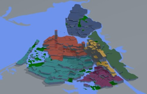 This Cool 3D Map Offers An Easy Way Of Spotting NYC's Priciest Real Estate