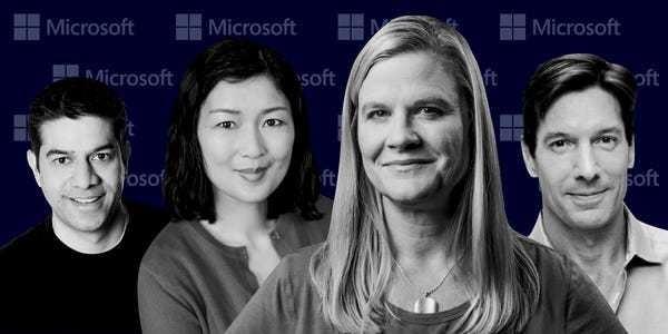 Meet the power players behind Microsoft's Azure cloud - Business Insider