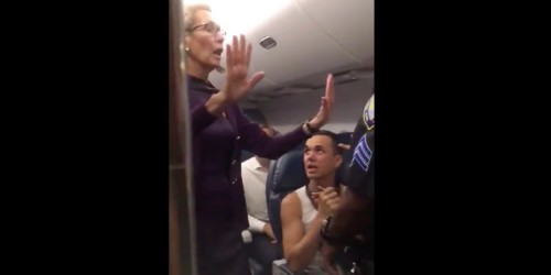 Video: Chaos on delayed Delta flight as police called to JFK runway