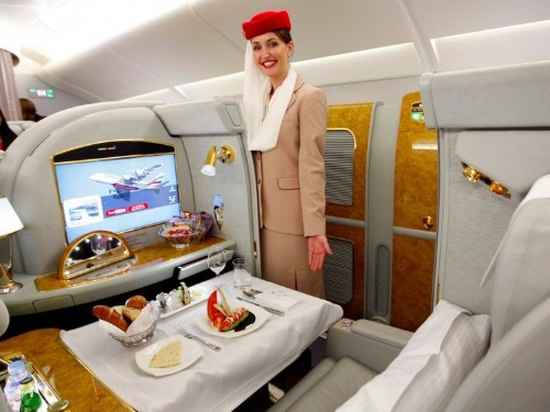 Here's what it's like to fly first class on Emirates, the best airline in the world