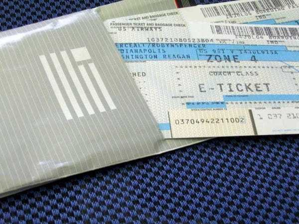 What is throwaway ticketing - Business Insider
