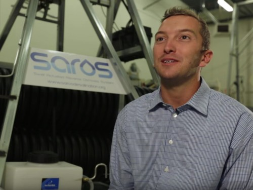 These two guys found an affordable way to turn salt water into drinkable water using the power of ocean waves