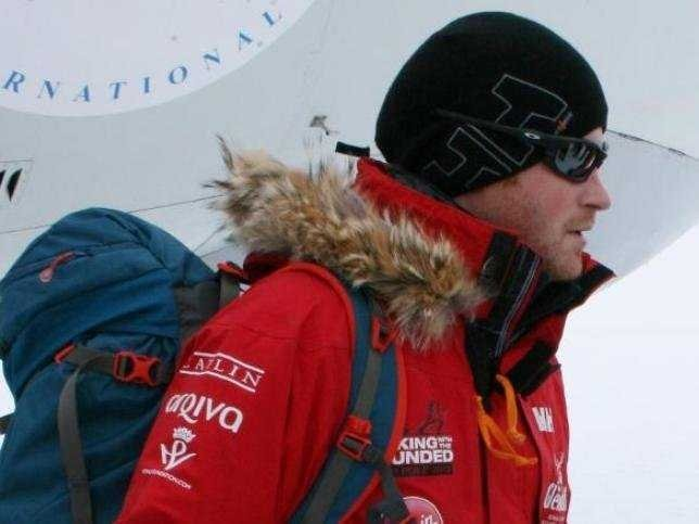Prince Harry Lands In Antarctica For Trek To The South Pole