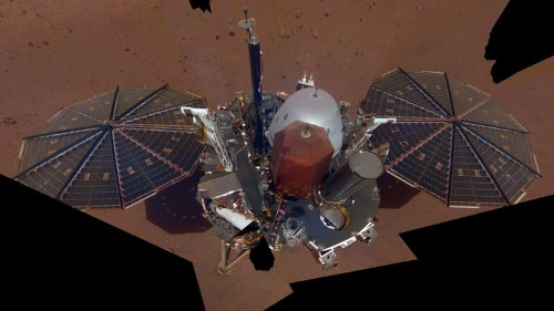 NASA's InSight lander just took its first selfie on Mars — take a look