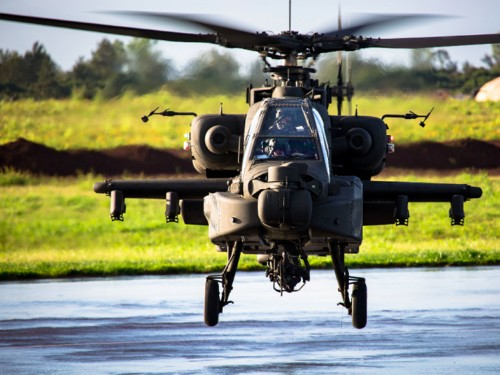 Looks like Boeing won a $2.9 billion contract to provide Apache helicopters to the UK