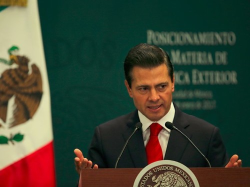Mexico's president: I 'reject' US decision to build the wall and we will not pay for it