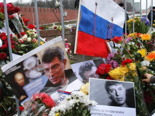 Russian opposition politician Boris Nemtsov was gunned down within sight of the Kremlin's own security cameras