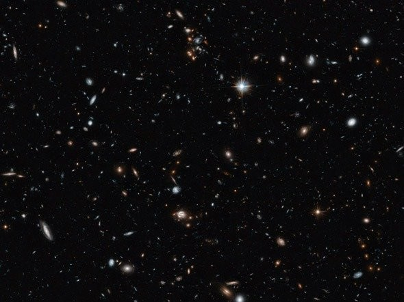 This Hubble image shows thousands of galaxies — and that's only a tiny fraction of the sky