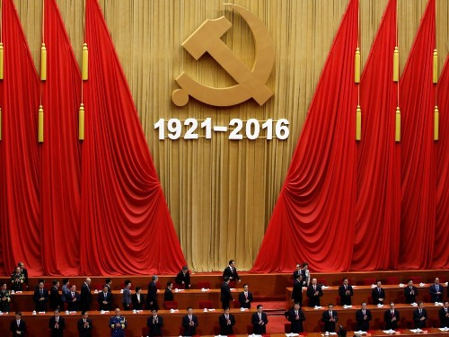 China new ad celebrating the Communist Party reaction is divided