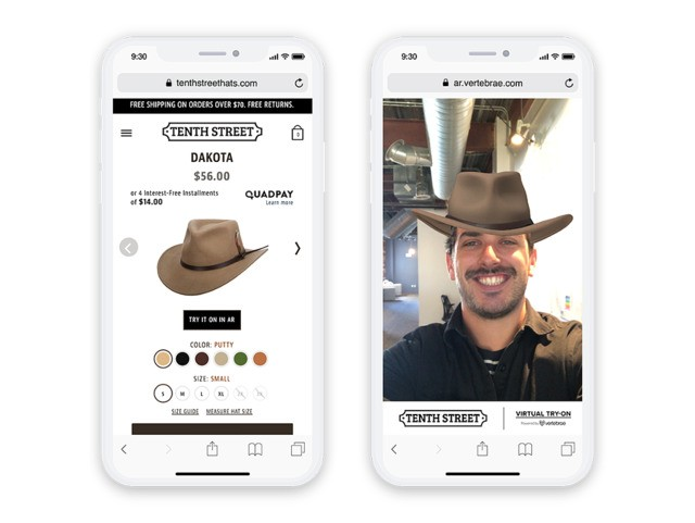 A new web-based AR platform looks promising for retailers
