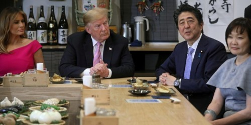 Trump Japan visit: Menu for dinner with Prime Minister Abe Shinzo